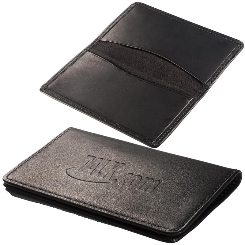 Alpine Card Case (Sueded Full-Grain Leather)
