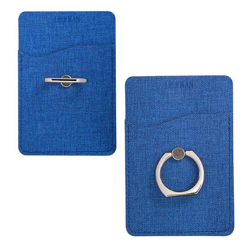 HOT DEAL - Leeman™ RFID Phone Pocket with Metal Ring Phone Stand