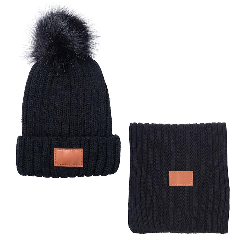 Leeman™ Ribbed Knit Winter Duo