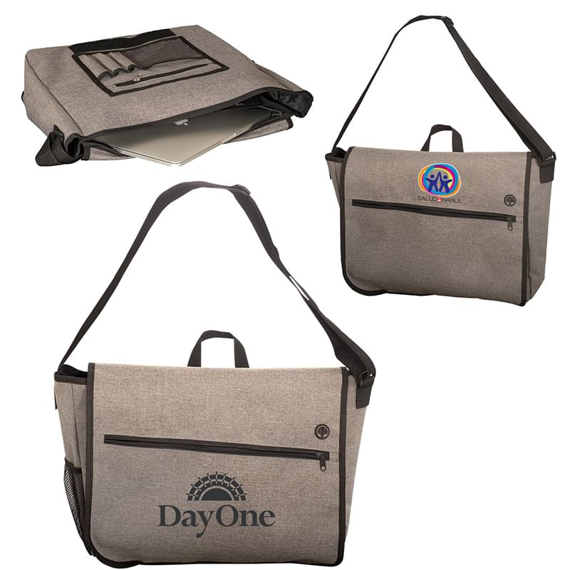 Strand Messenger Bag with Laptop Sleeve