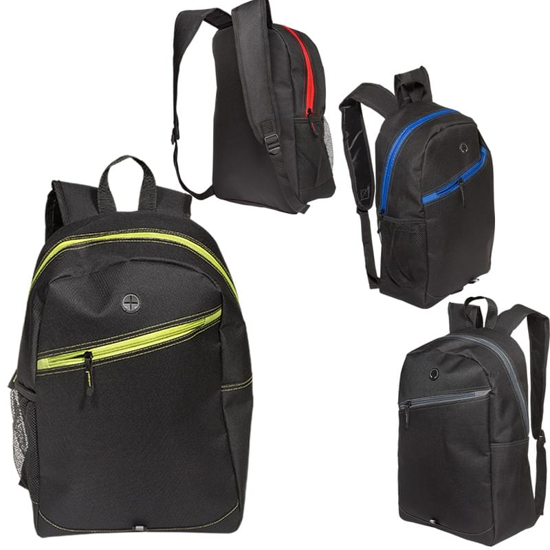 Color Zippin' Laptop Backpack