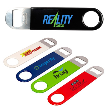 Double Sided Metal Bottle Opener (with Coating)