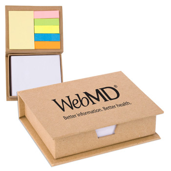 Eco/Recycled Sticky Note Memo Case
