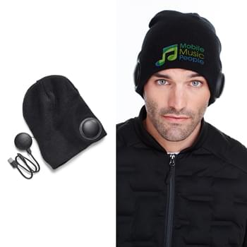 Vox Beanie with Wireless Headphones