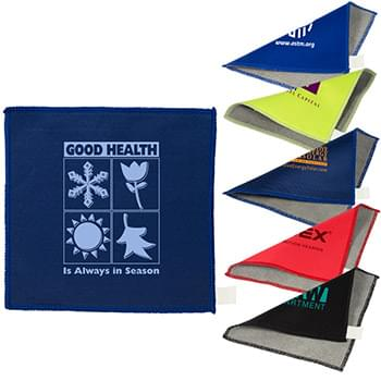 Double-Sided Microfiber Cleaning Cloth