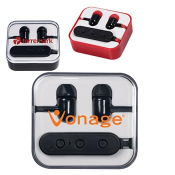 Wireless Bluetooth® Earbuds in Case