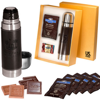 Empire™ Thermal Bottle & Ghirardelli® Deluxe Gift Set