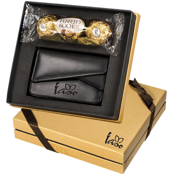 Ferrero Rocher Chocolates & Card Case Gift Set