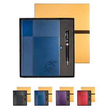Tuscany™ Duo-Textured Journal & Executive Stylus Pen
