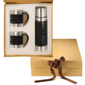 Empire Thermos & Coffee Cups Gift Set