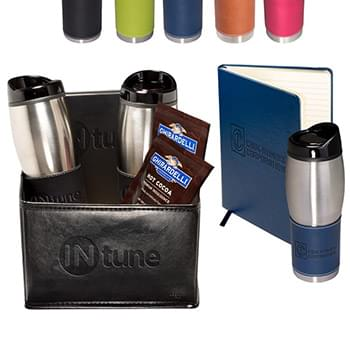 Tuscany™ Tumblers & Journal Ghirardelli® Cocoa Set