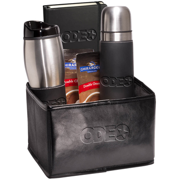 Tuscany Thermos, Tumbler & Journal Ghirardelli Gift Set