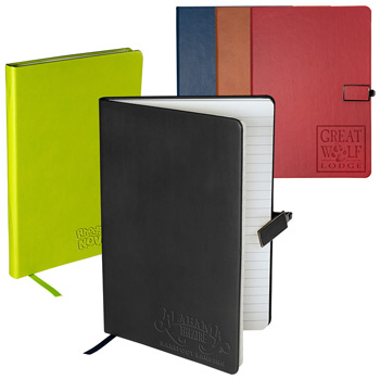 Tuscany™ Journal with Magnetic Badge Closure