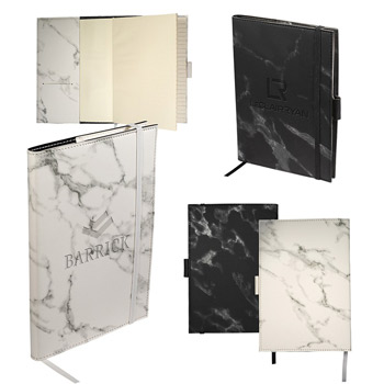 LEEMAN™ Medium Refillable Marble Journal