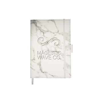 Leeman™ Medium Marble Refillable Journal
