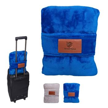 HOT DEAL - Leeman™ Duo Travel Pillow Blanket