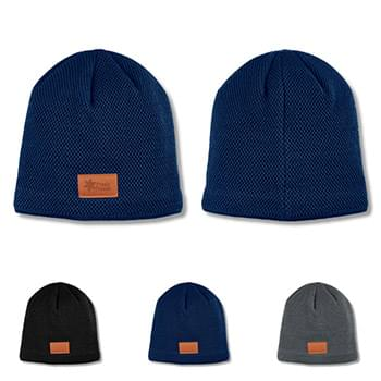 HOT DEAL - Leeman Classic Textured Knit Beanie