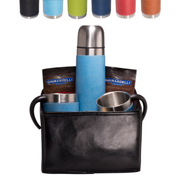 Tuscany Thermos & Cups Ghirardelli Cocoa Set