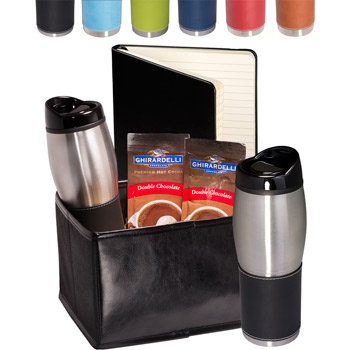 Tuscany Tumblers & Journal Ghirardelli Cocoa Set