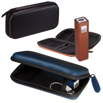 Tuscany™ Tech Case and Power Bank Gift Set