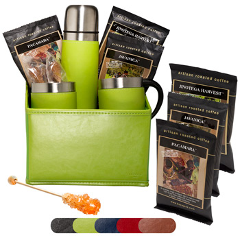 Tuscany Thermal Bottle & Cups Coffee Set