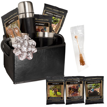 Empire™ Thermal Bottle & Cups Coffee Set