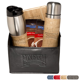 Casablanca™ Thermal Bottle, Tumbler & Journal Ghirardelli® Gift Set