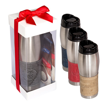 Casablanca™ Tumbler & Ghirardelli Hot Chocoa Gift Set