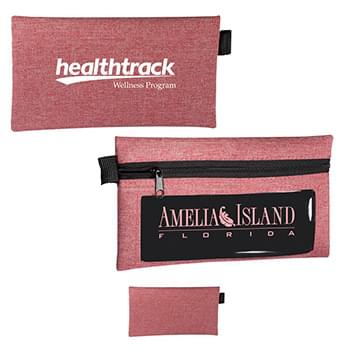 Strand Zip Accessory Pouch