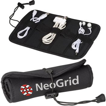 Neoprene Roll-Up Tech Case