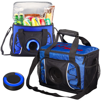 Diamond Cooler Bag with Wireless Speaker