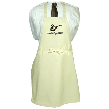 Butcher Apron - Natural and White