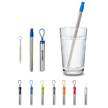 Festival Telescopic Drinking Straw Kit