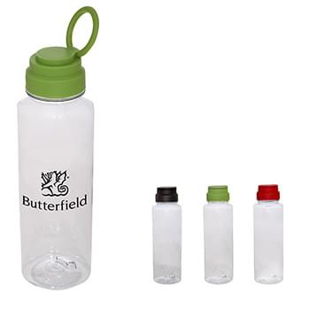23 oz. AS Plastic Fun-Run Bottle