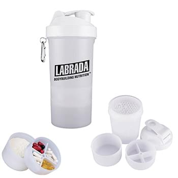 20 oz. SmartShake™ Original Compartment Fitness Shaker