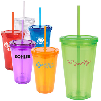 16 oz. Double-Wall Cool Acrylic Tumbler