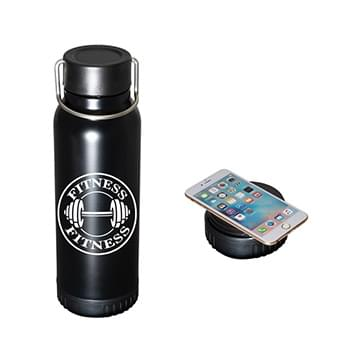 22 oz. Hydration Charging Station Stainless Steel Bottle