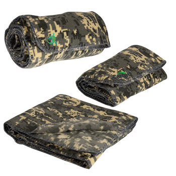 Digital Camo Blanket