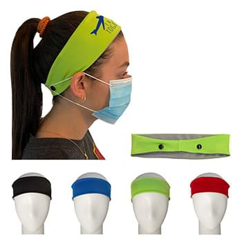 Headband for Mask Support