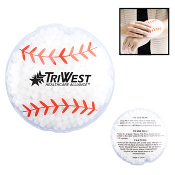 Hot/Cold Gel Pack – Sport Shapes - Baseball