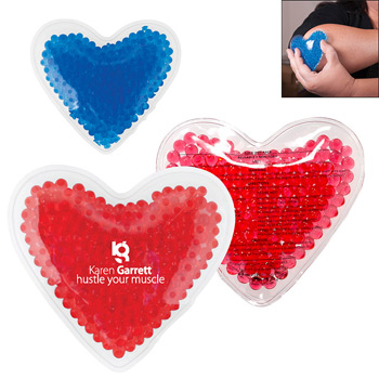 Hot/Cold Gel Pack - Heart Shape