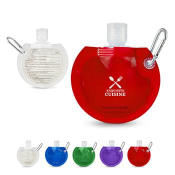 1.5 oz. Round Collapsible Sanitizer