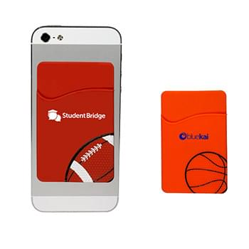 Sport Theme Silicone Pocket