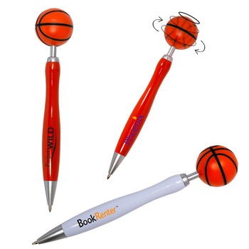 Basketball Spinner Ball Pen