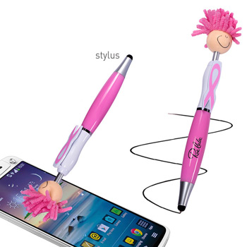 Awareness MopToppers® Screen Cleaner with Stylus Pen