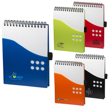 PP Two-Tone Dot Jotter
