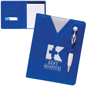 Swanky Scrubs Junior Writing Pad with Stethoscope Pen