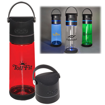 21 oz. CoPolyester Plastic Wireless Speaker Bottle