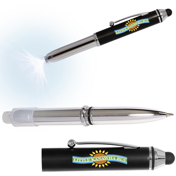 Pen Light/Stylus for Touchscreen Devices