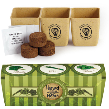 HOT DEAL - GrowPot Eco-Planter Herb 3-Pack